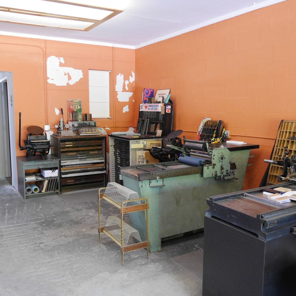 Studio at The Southern Letterpress