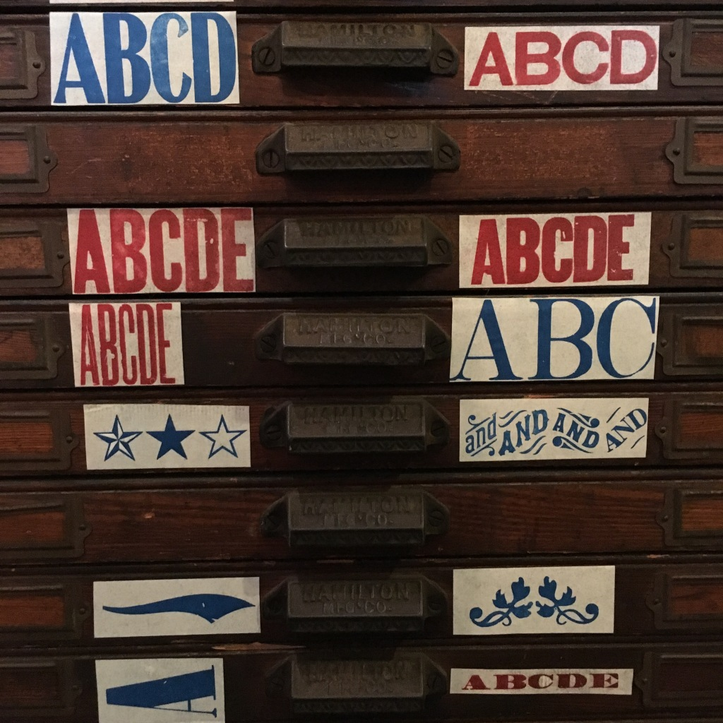 Wood types from The Arm - Brooklyn, NY