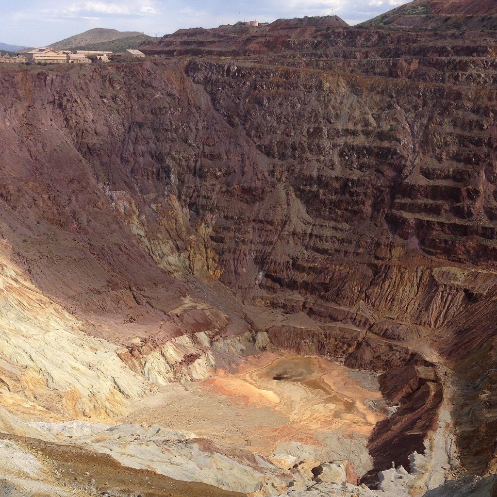 Pit mine - Bisbee, AZ