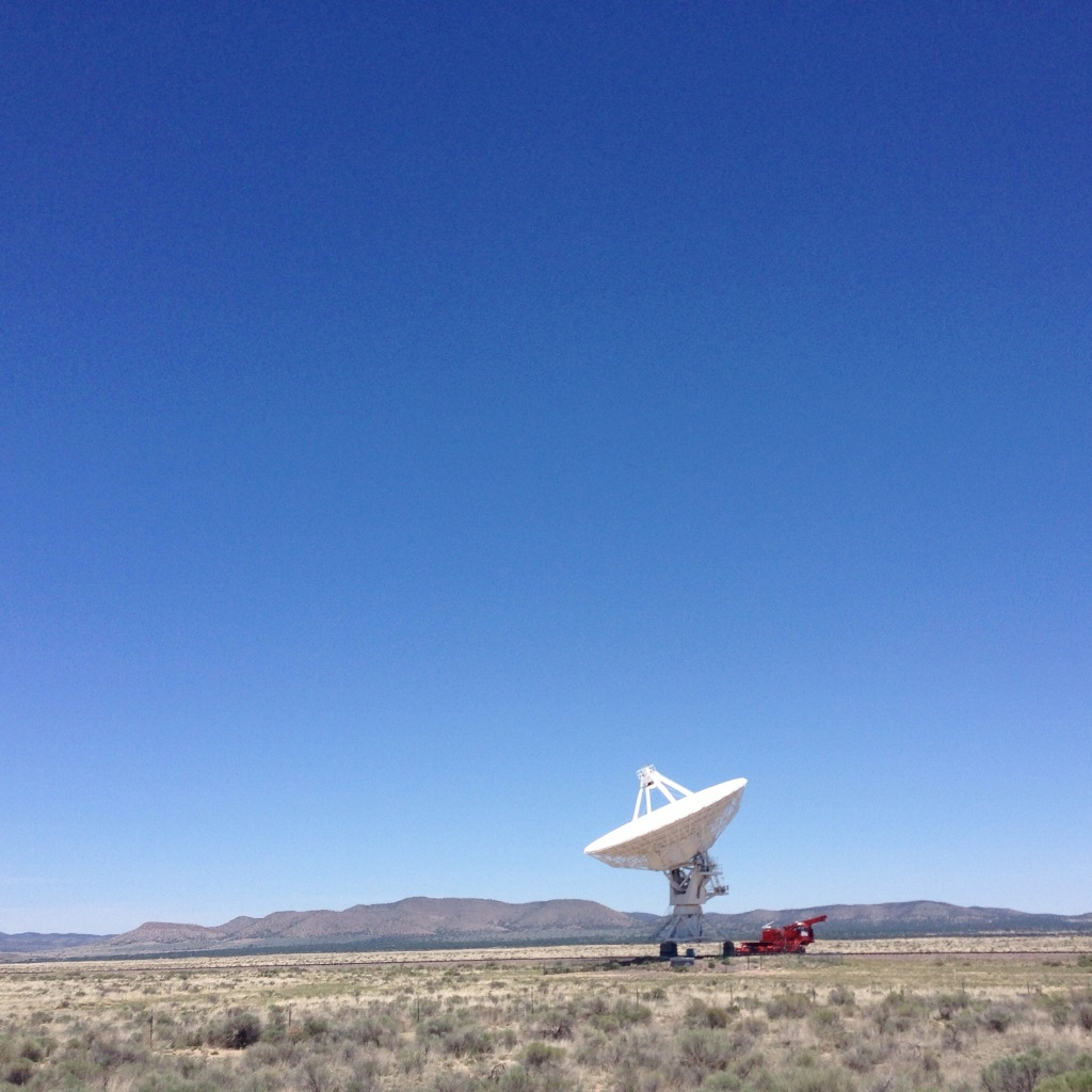 Very Large Array on the Plains of San Agustin -Socorro, NM