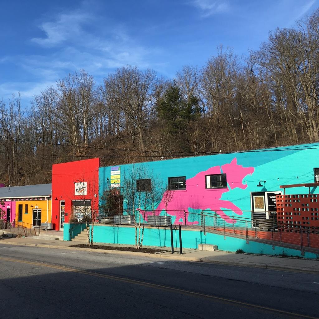 Murals in Asheville, NC