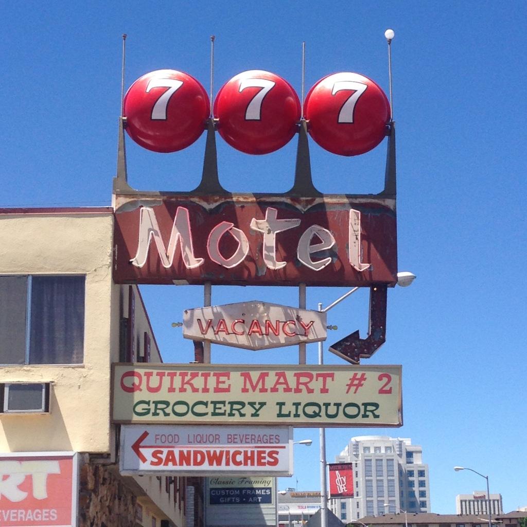 Motel signage - Reno, NV