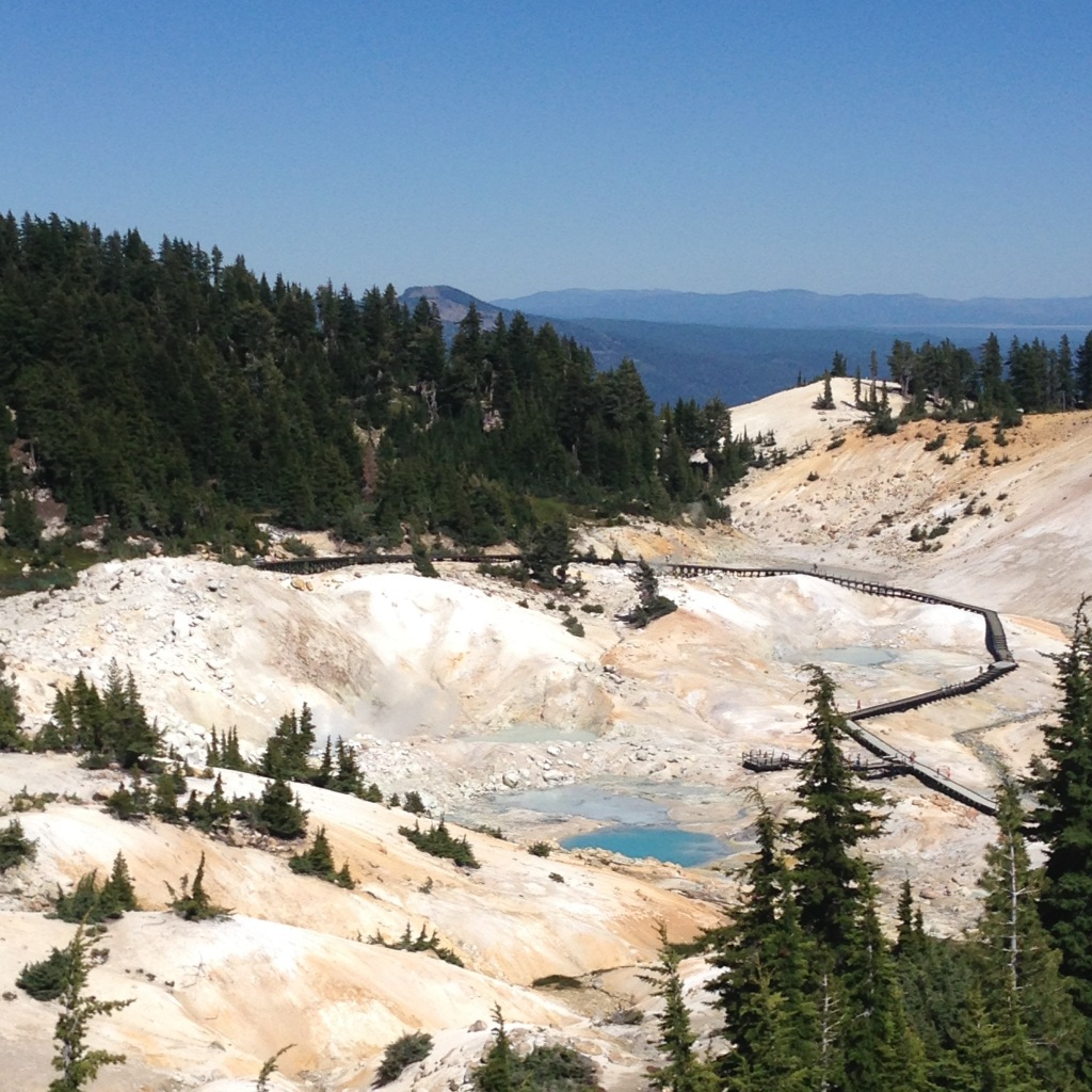 Bumpass Hell - Lassen Volcanic National Park, CA