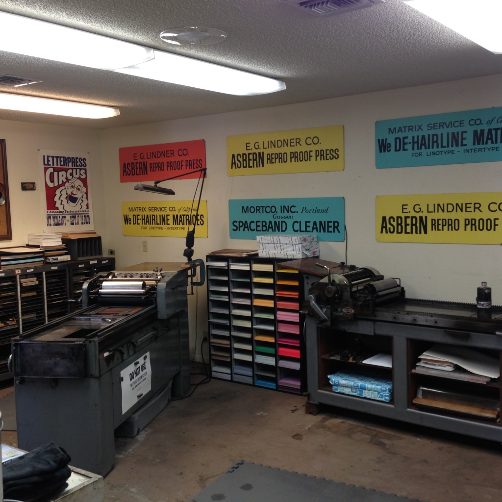 Studio at The International Printing Museum - Carson, CA