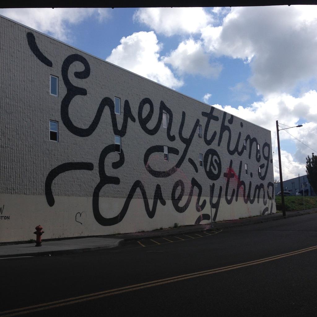 Mural in Portland, OR