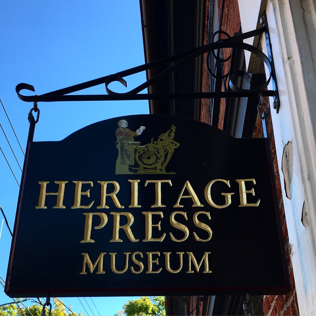 Heritage Press Museum - Lancaster, PA