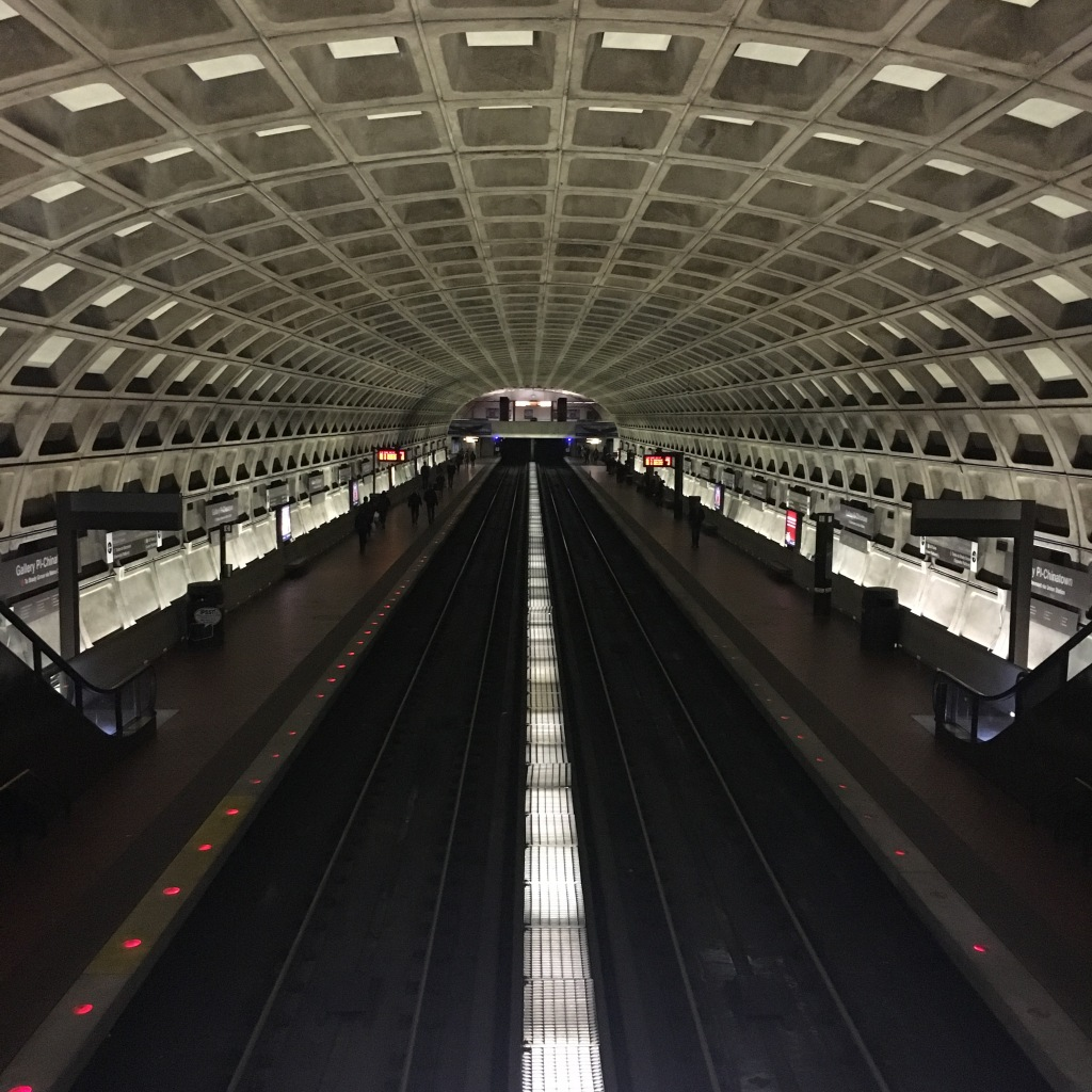 Subway tunnel - Washington, DC