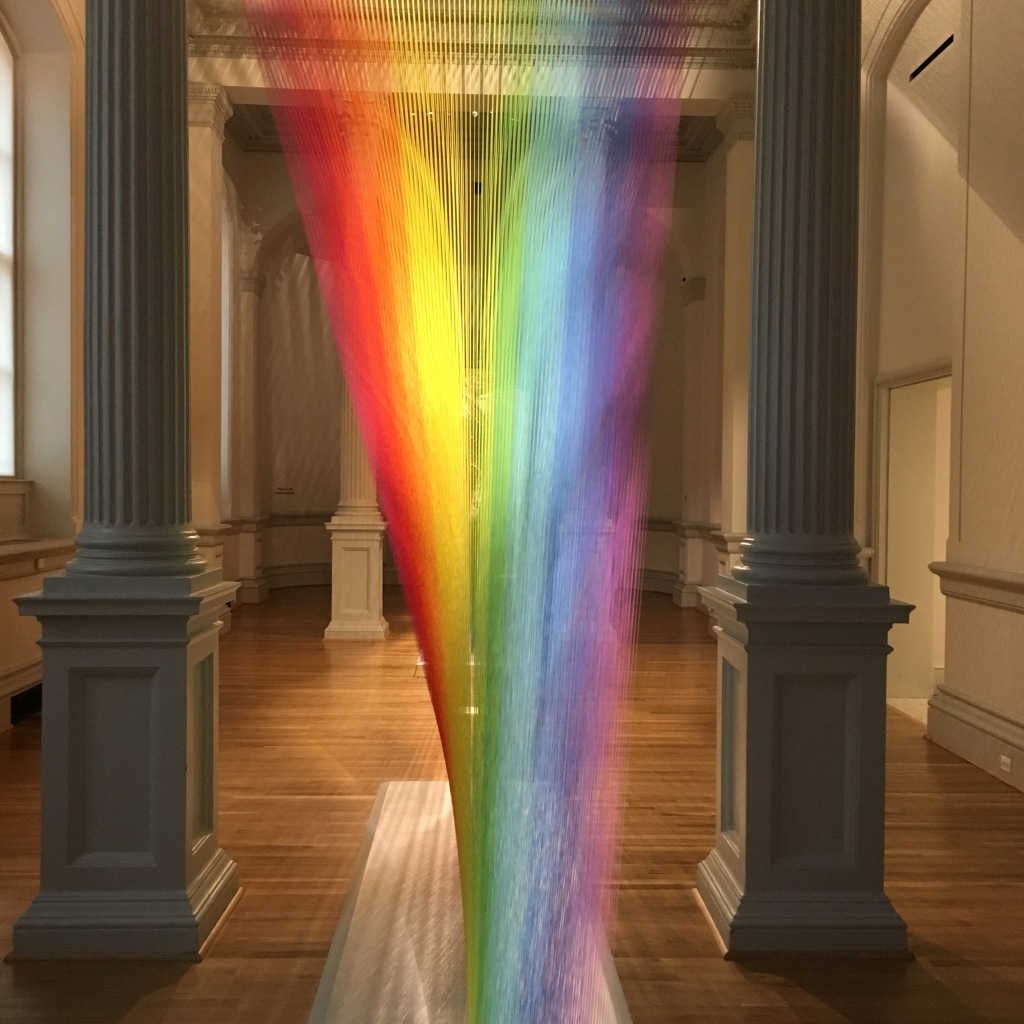 Installation by Gabriel Dawe at Renwick Gallery - Washington, DC