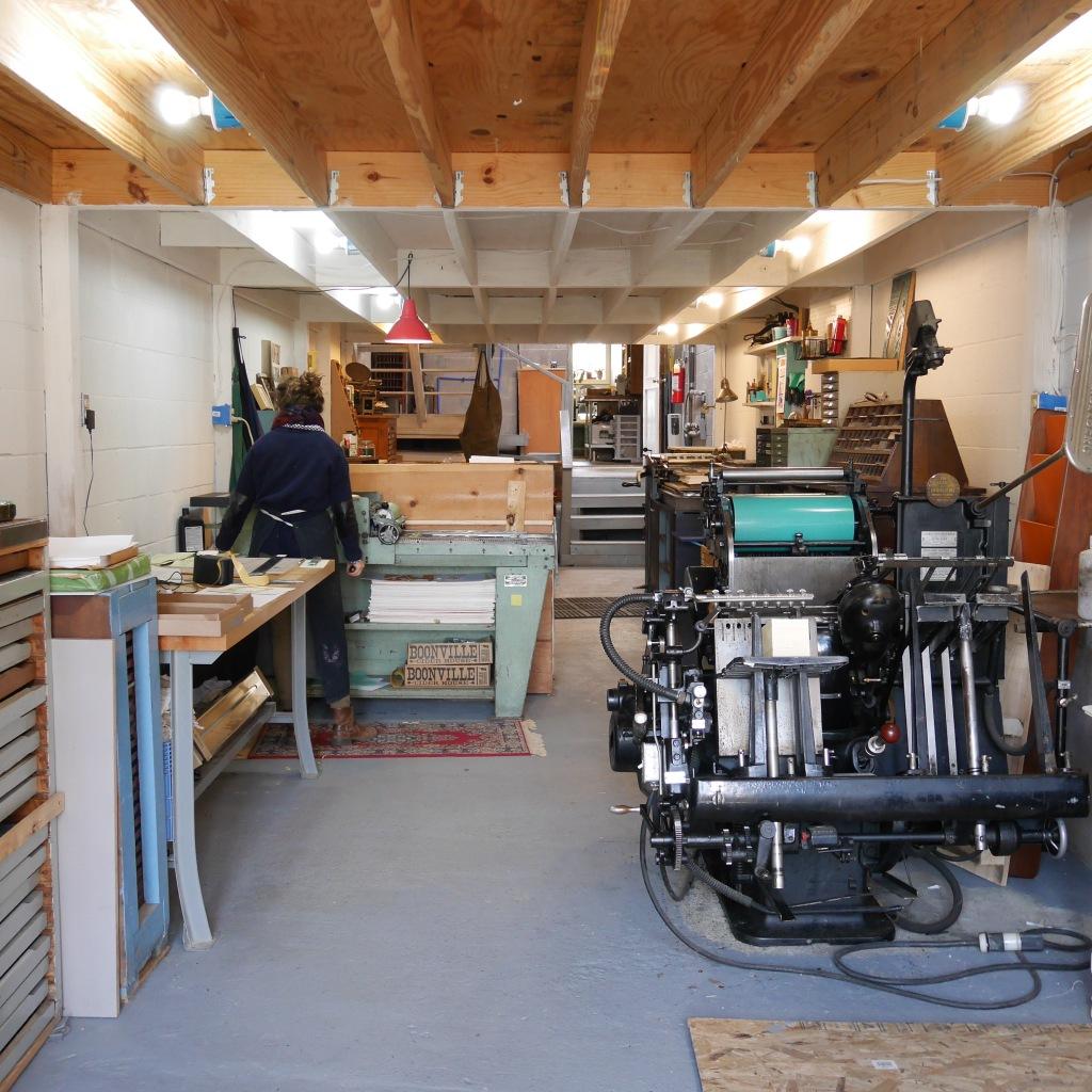 Brad Vetter's studio - Louisville, KY