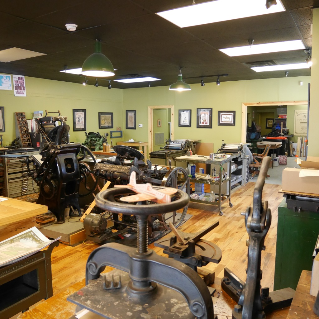 Studio at Hound Dog Press - Louisville, KY